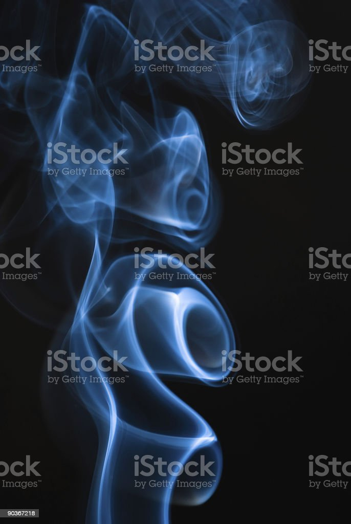 smoke shapes royalty-free stock photo