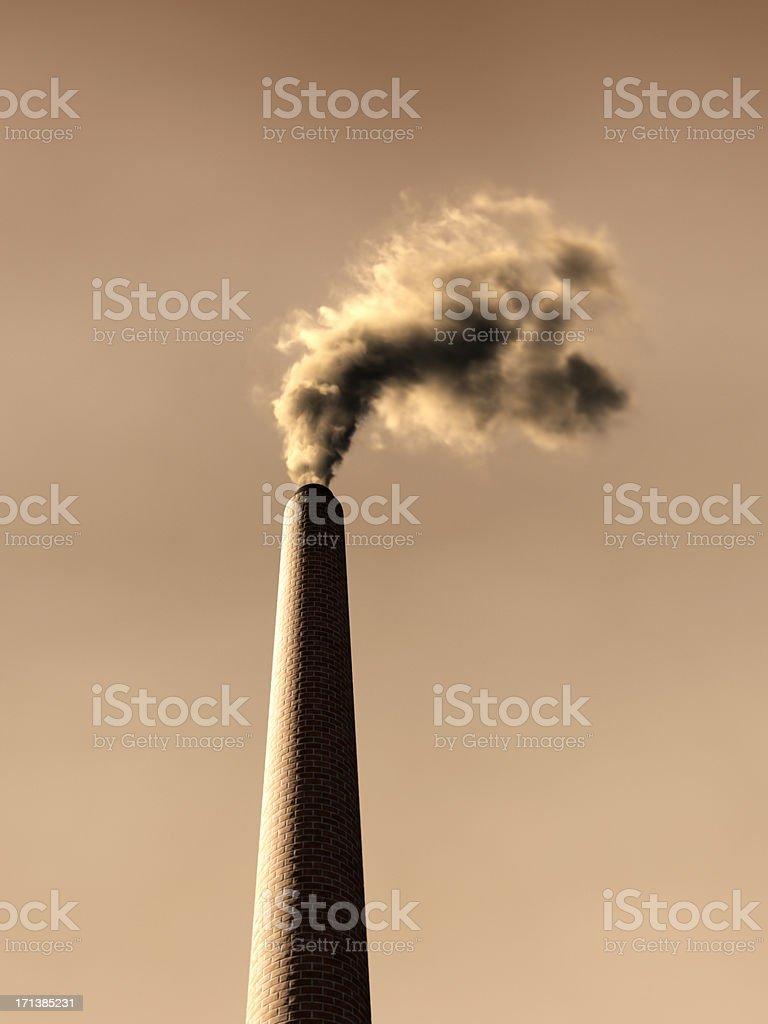 Smoke Stack XL stock photo