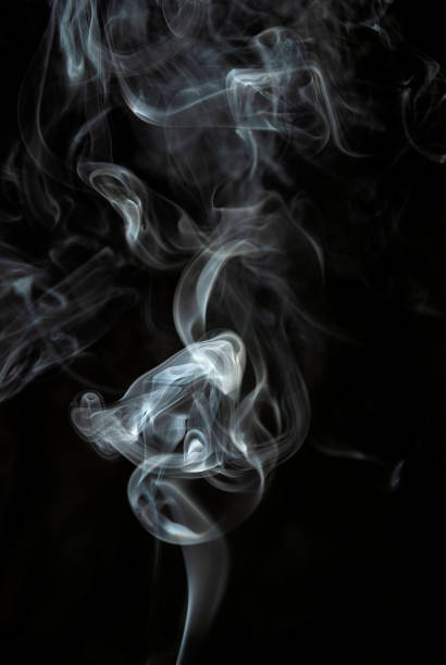smoke - steam vaping background fog - smoke physical structure stock pictures, royalty-free photos & images