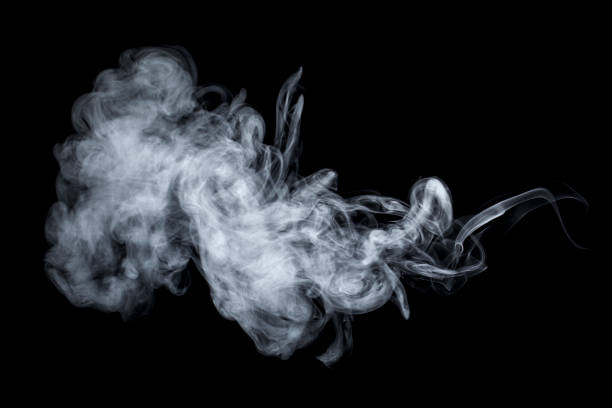 Smoke - Steam Vaping Background Fog stock photo