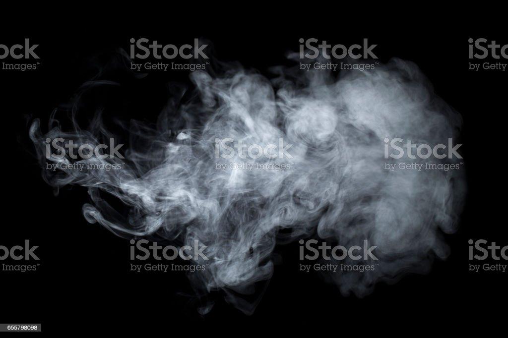 Humo - niebla Vaping fondo de vapor - foto de stock