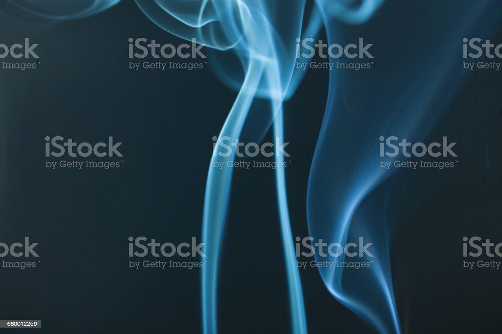 smoke studio shot with blackground