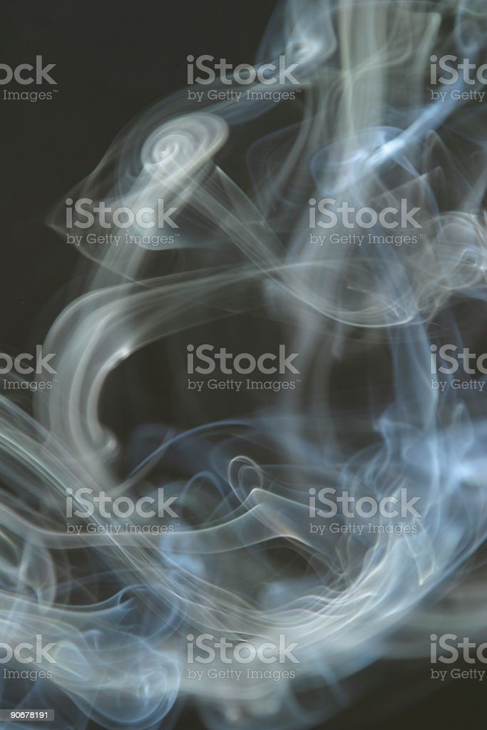 Smoke Womb with a View Smoking royalty-free stock photo