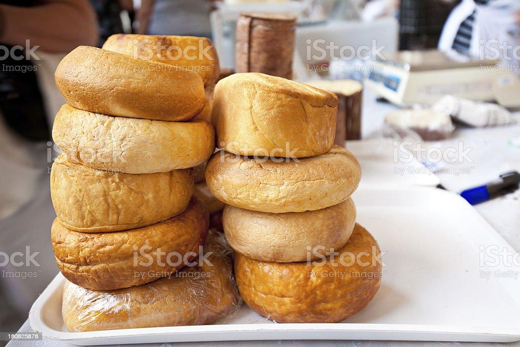 Smoked Cheese royalty-free stock photo