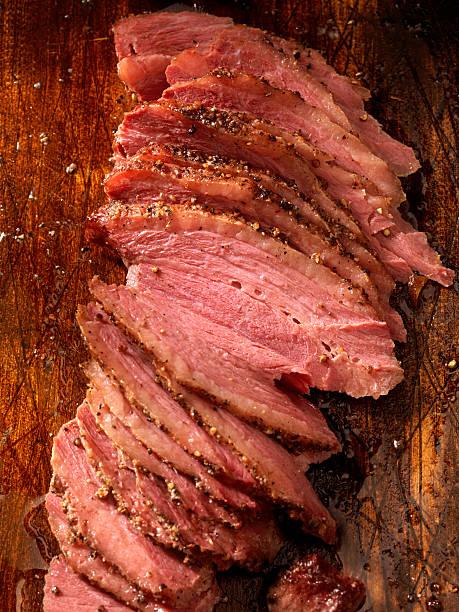 Carne defumada - foto de acervo