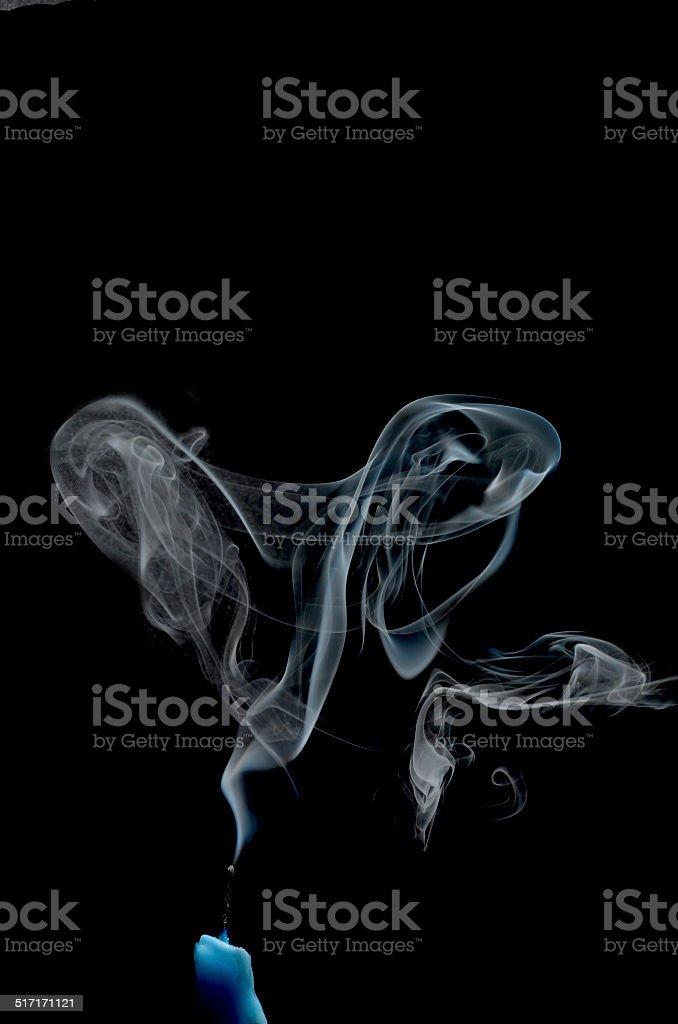 smoked stock photo