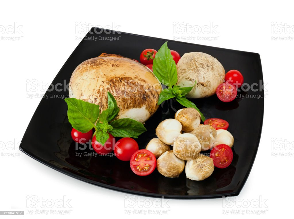 Smoked provola di Bufala, fresh cheese, italian dairy product. stock photo