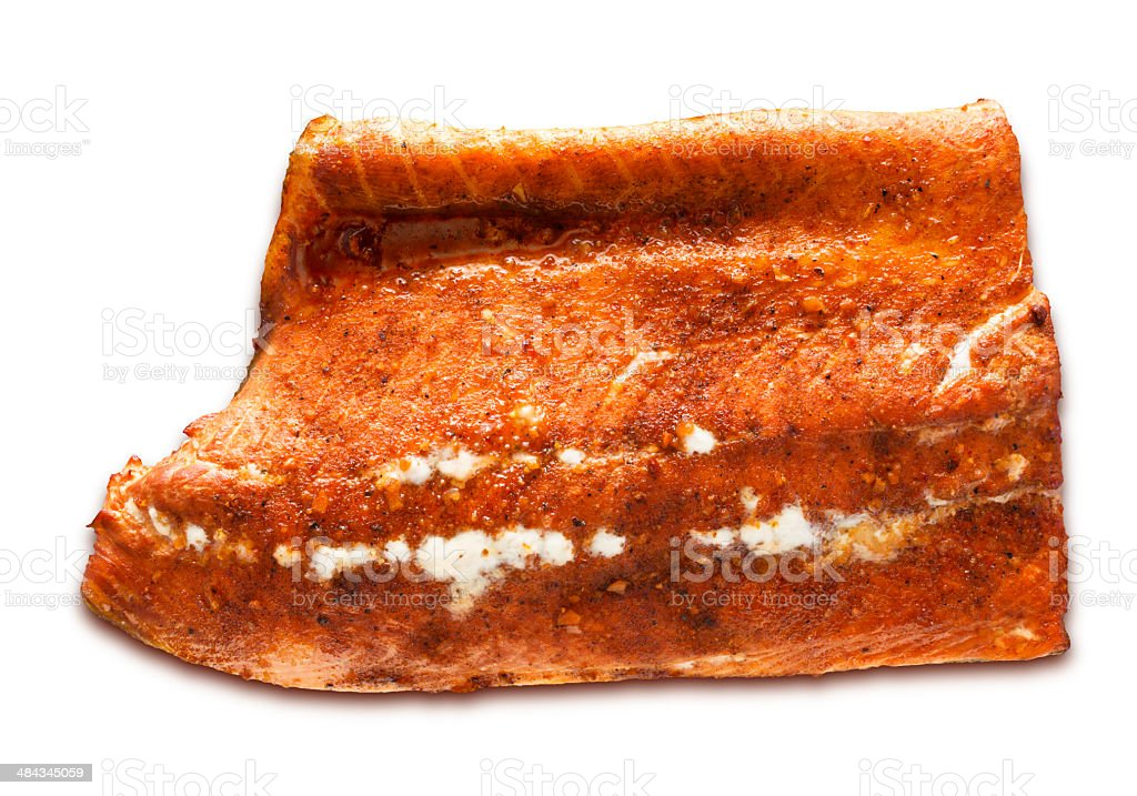 Smoked Salmon (PATH) royalty-free stock photo