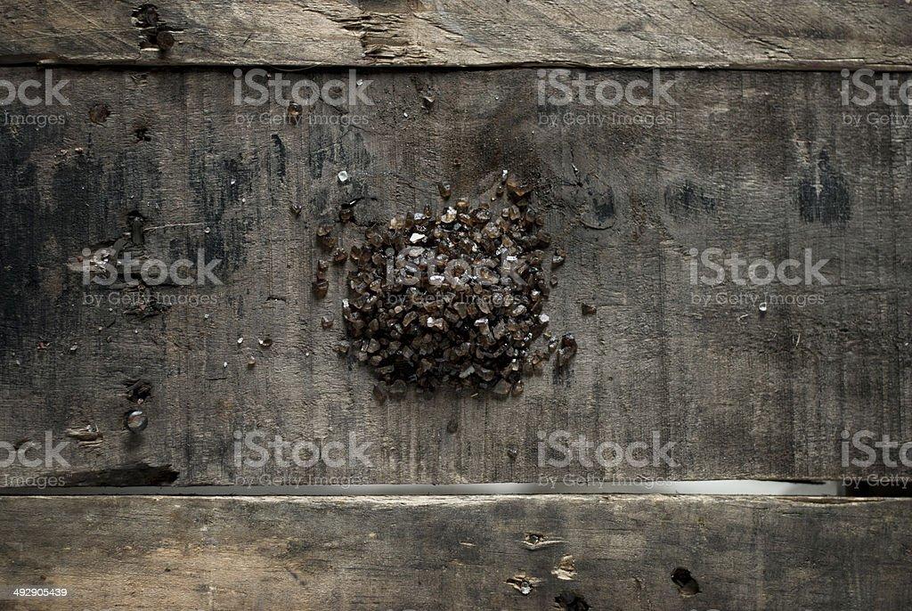 Smoked Sea Salt royalty-free stock photo