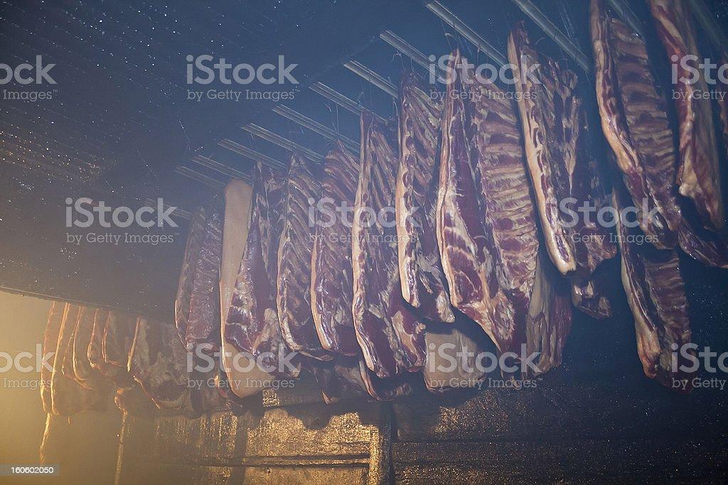 Smokehouse royalty-free stock photo