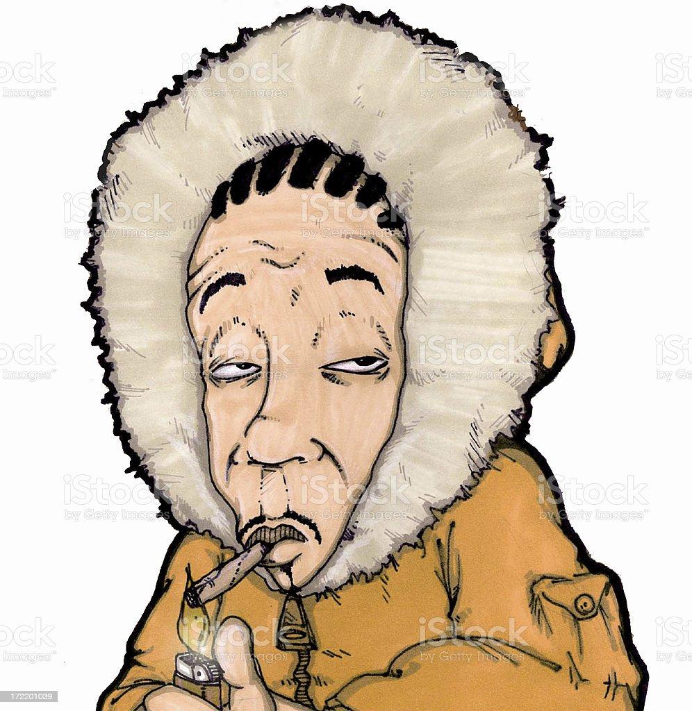 smoker... stock photo