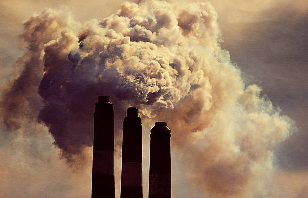 smokestack - pollution stock photos and pictures