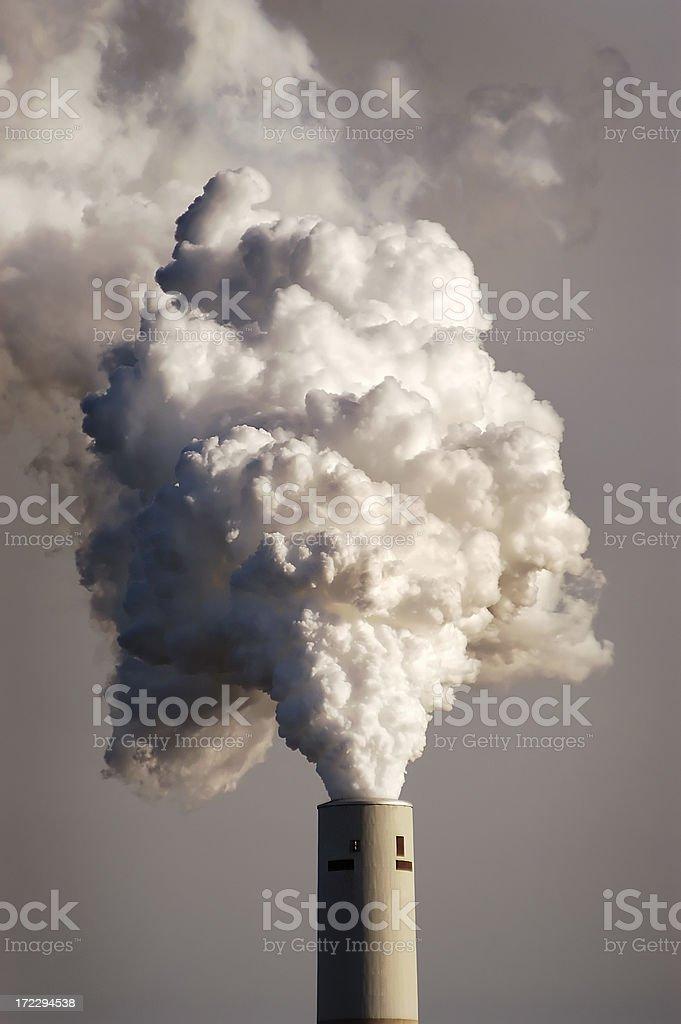 smokestack twelve royalty-free stock photo