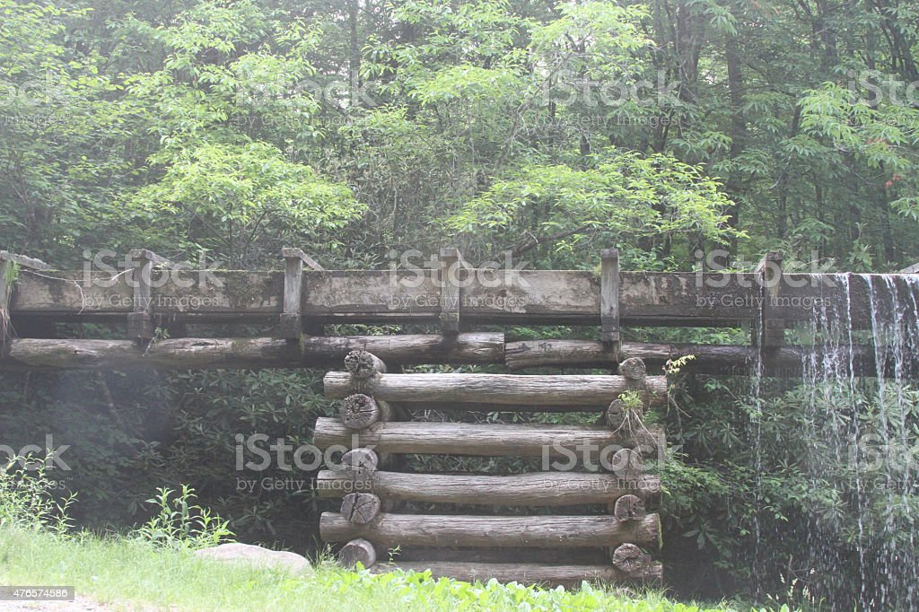 Smokey Mountains stock photo