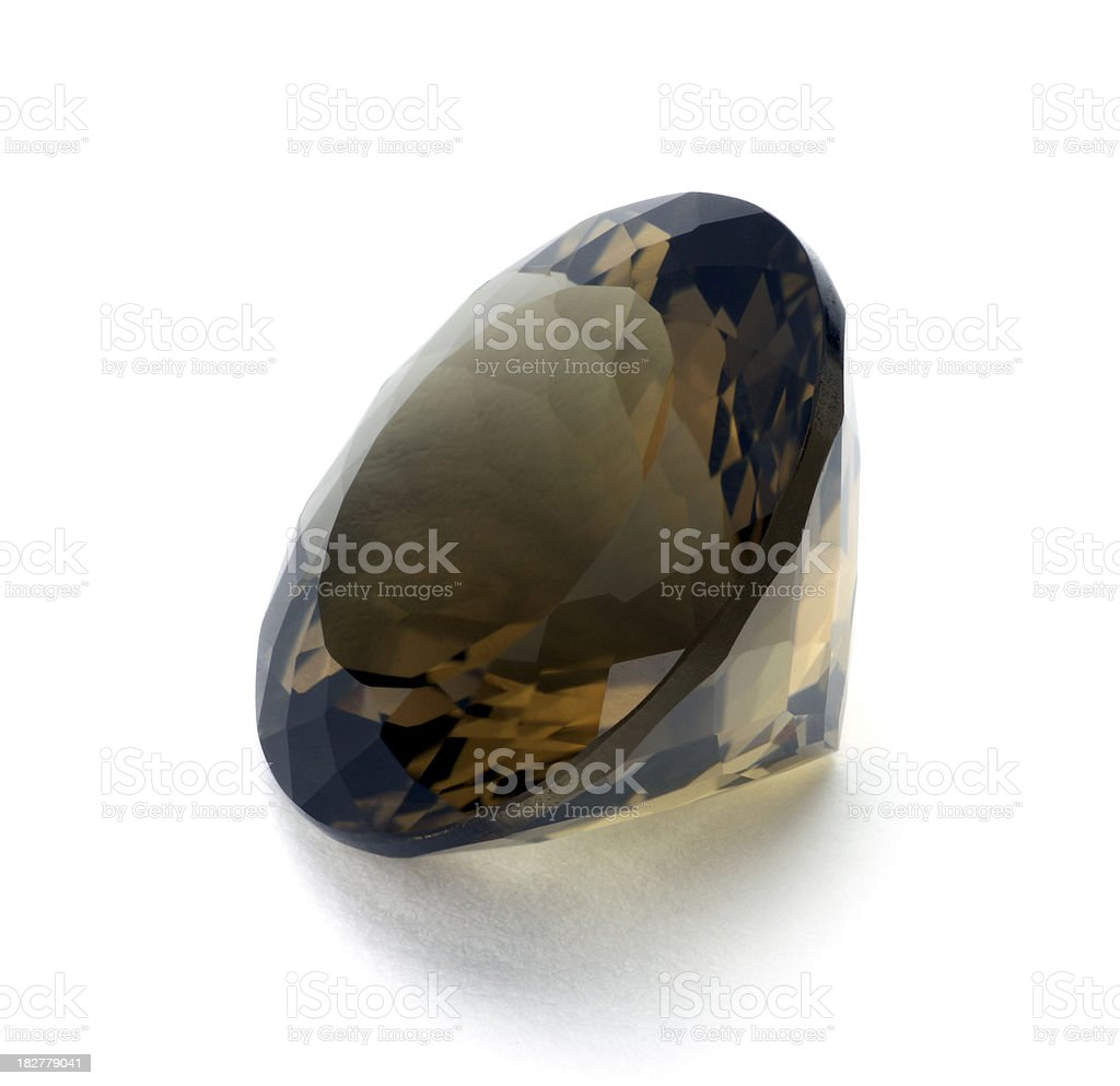 Smokey Quartz royalty-free stock photo