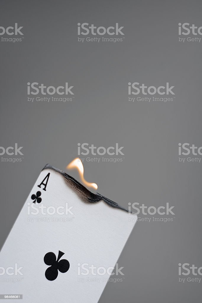 Smokin' Aces royalty-free stock photo