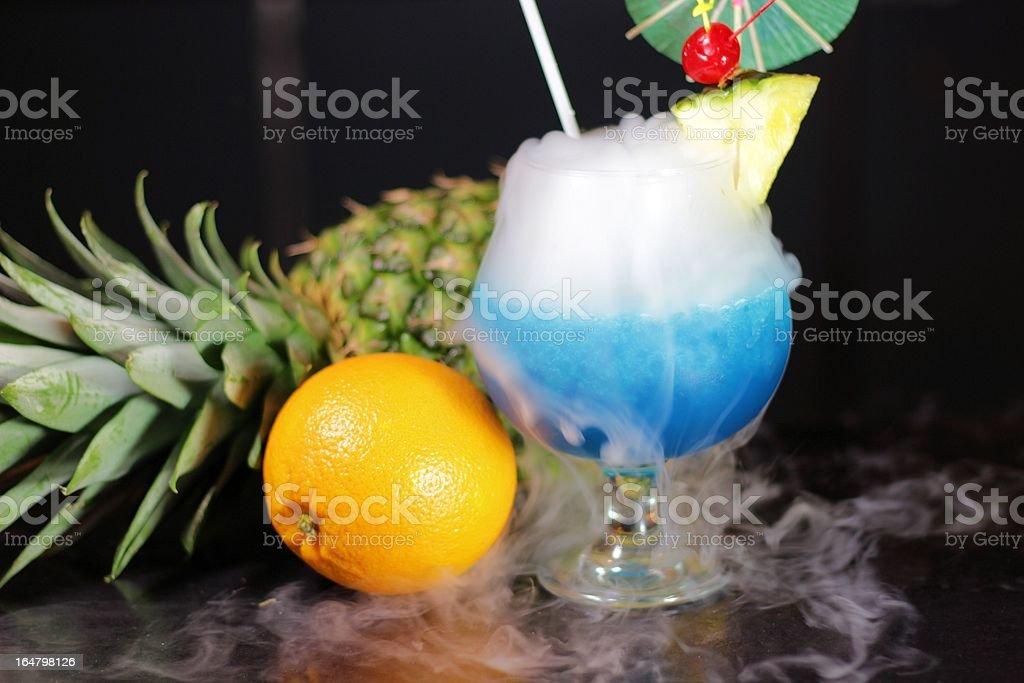 Smoking Beverage stock photo