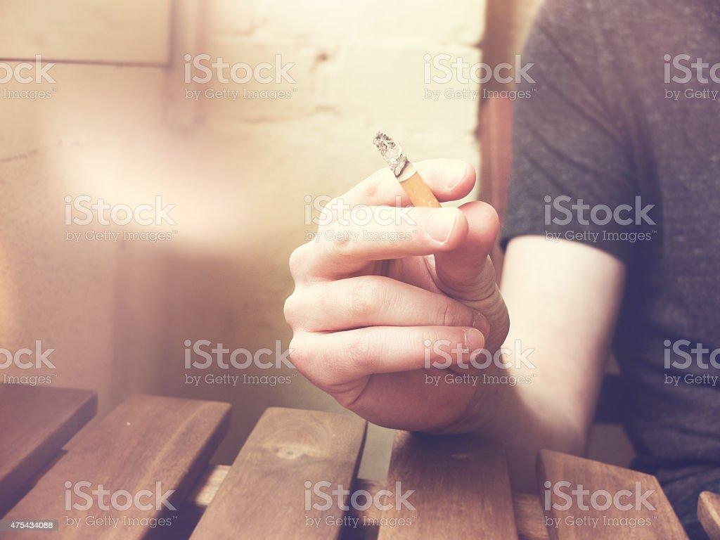 Rauchen Zigarette – Foto