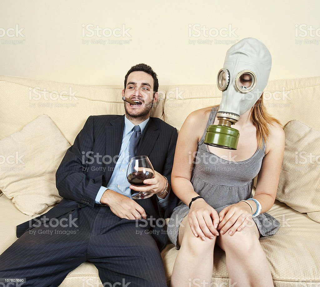 Smoking issues. royalty-free stock photo