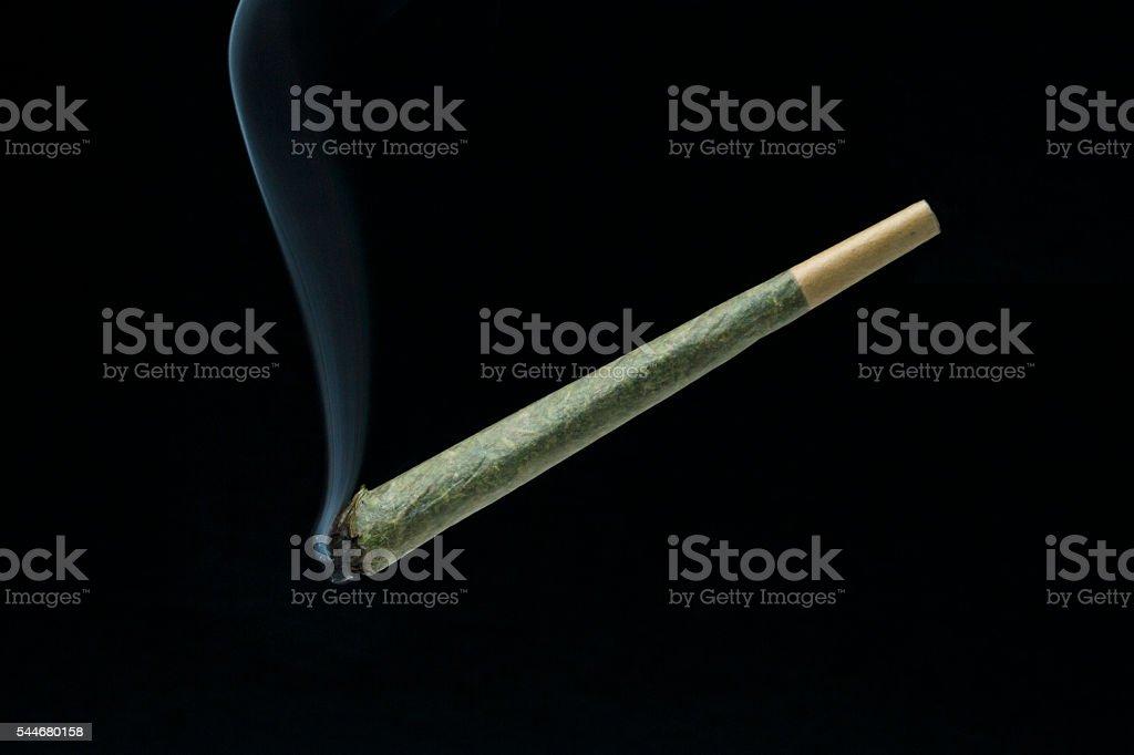 Smoking Joint stock photo