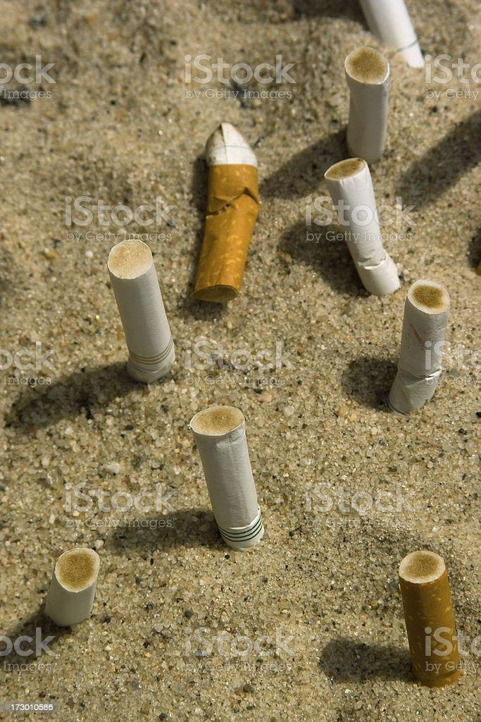 Smoking kill royalty-free stock photo
