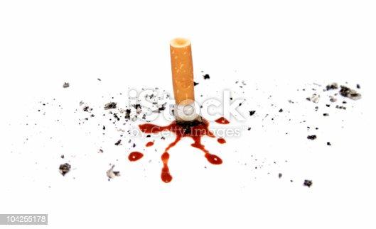 istock Smoking kills 104255178