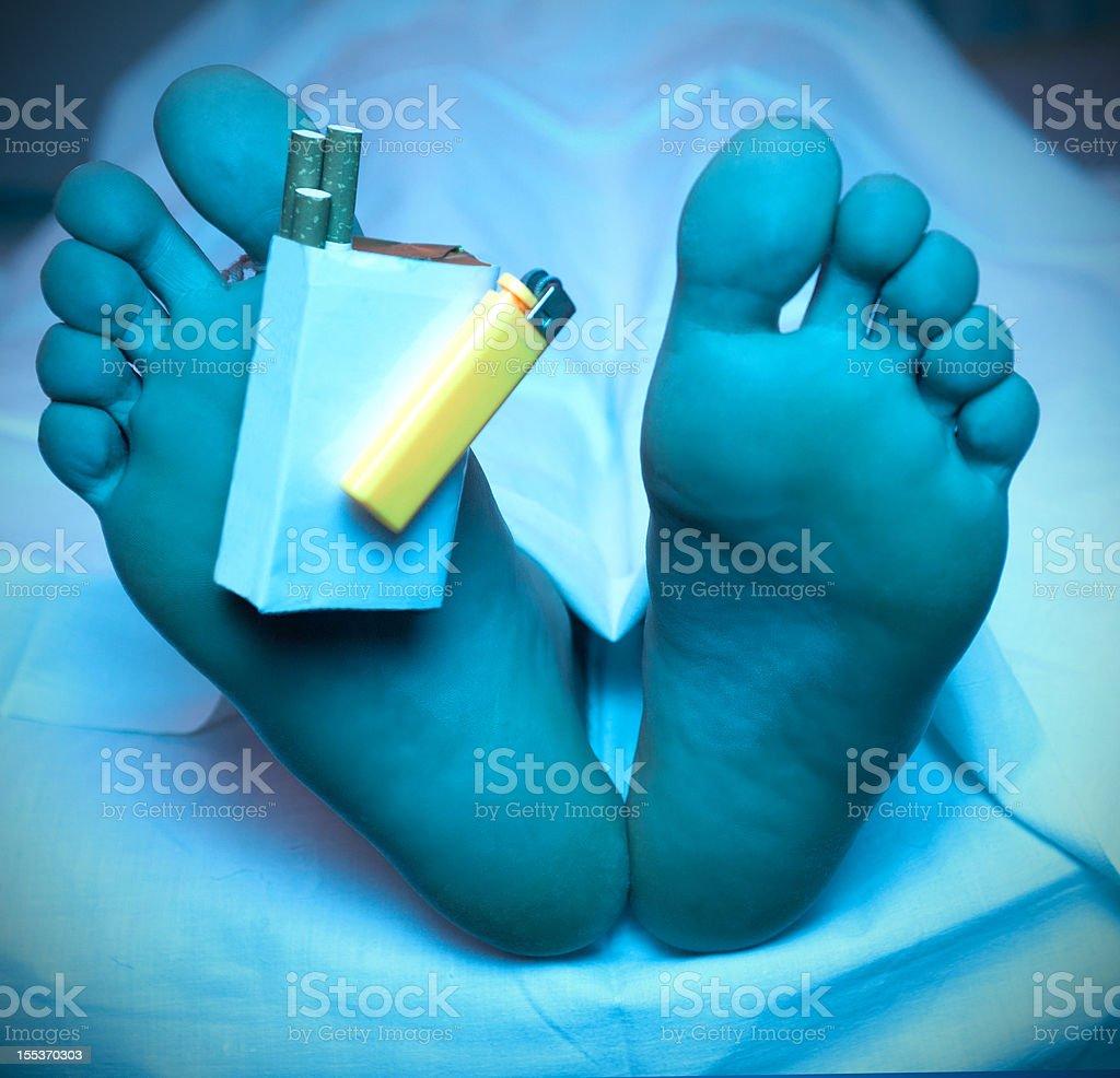 Smoking Kills royalty-free stock photo