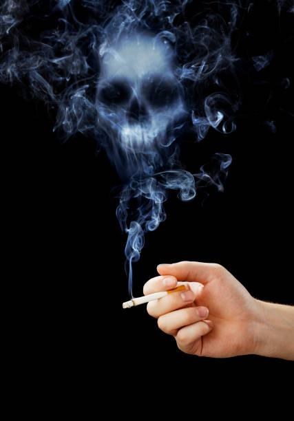 Smoking kills stok fotoğrafı