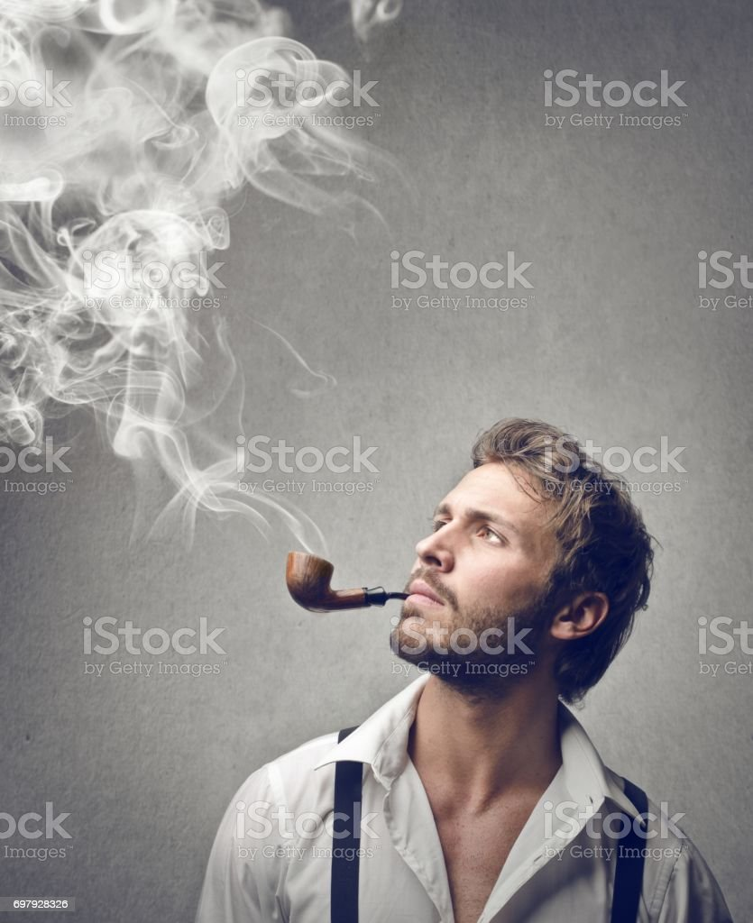 Homme FUMEUR - Photo