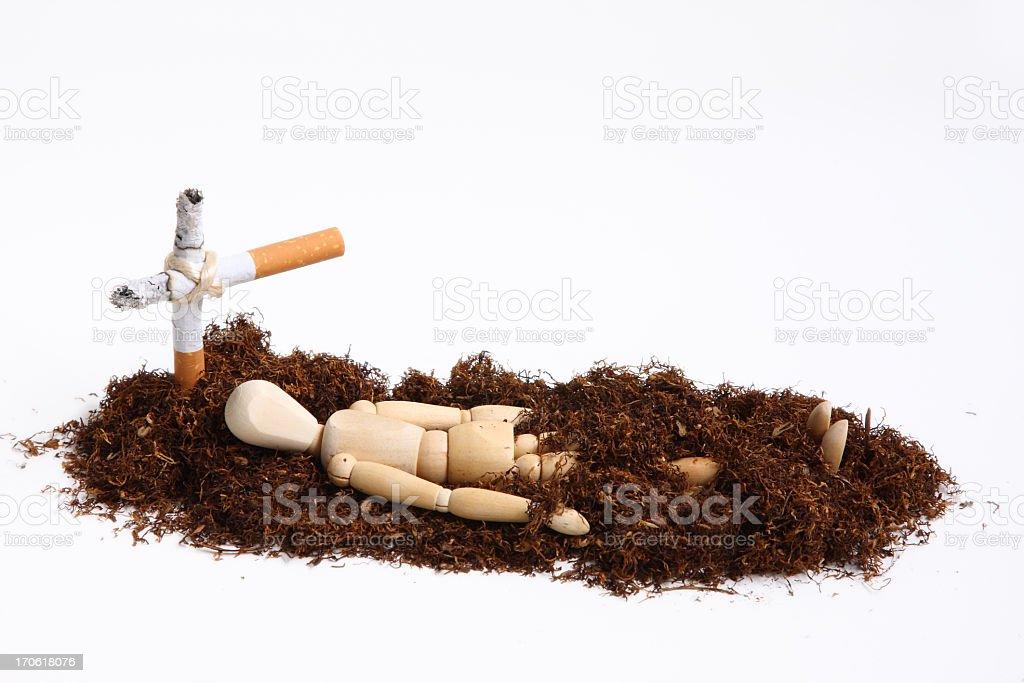 smoking manikin series royalty-free stock photo