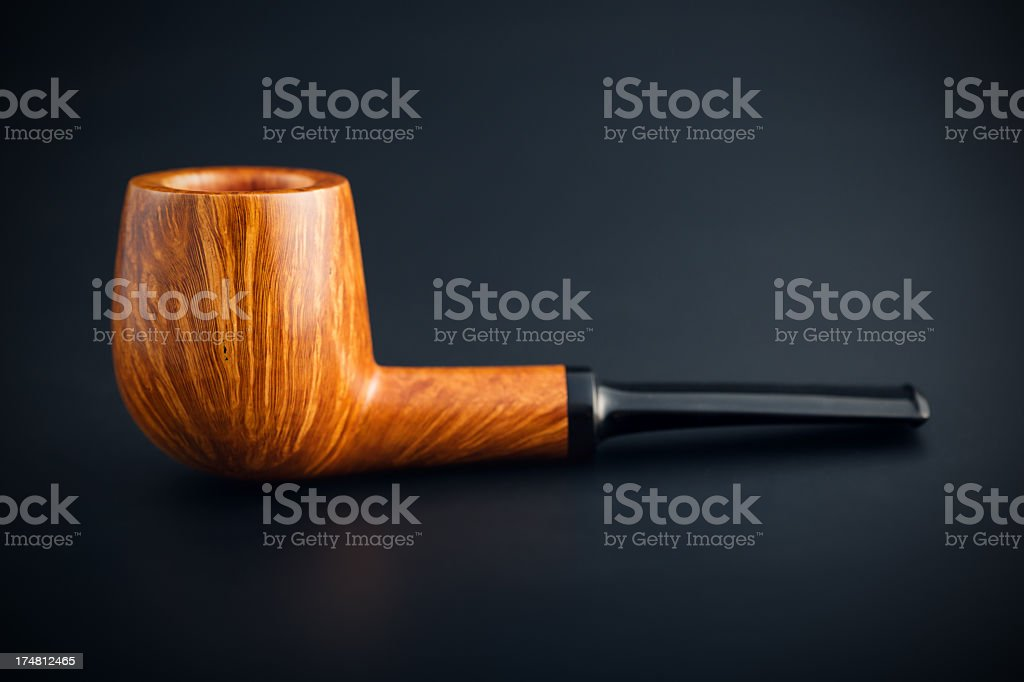Smoking pipe royalty-free stock photo
