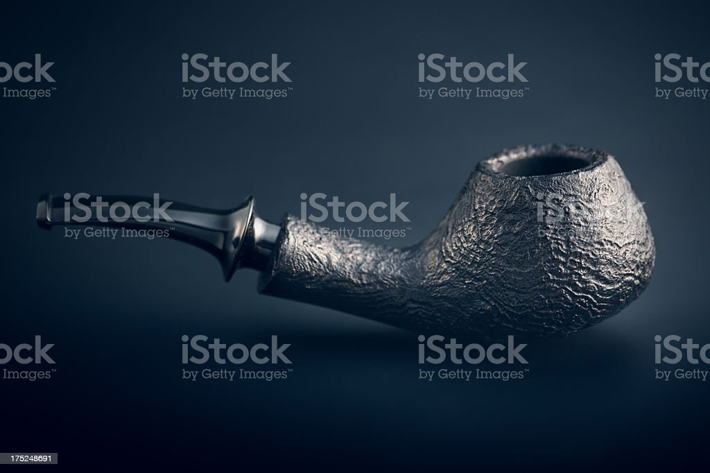 Smoking pipe stock photo