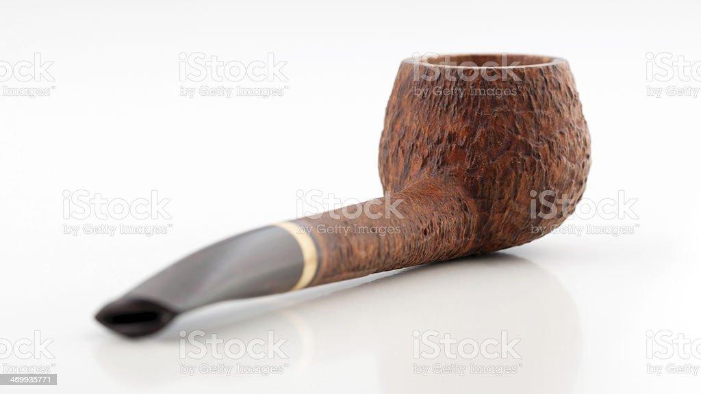 Smoking pipe royalty-free stock photo