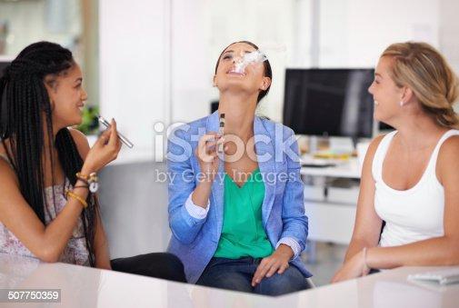 1033177506 istock photo Smoking socially without the stigma 507750359