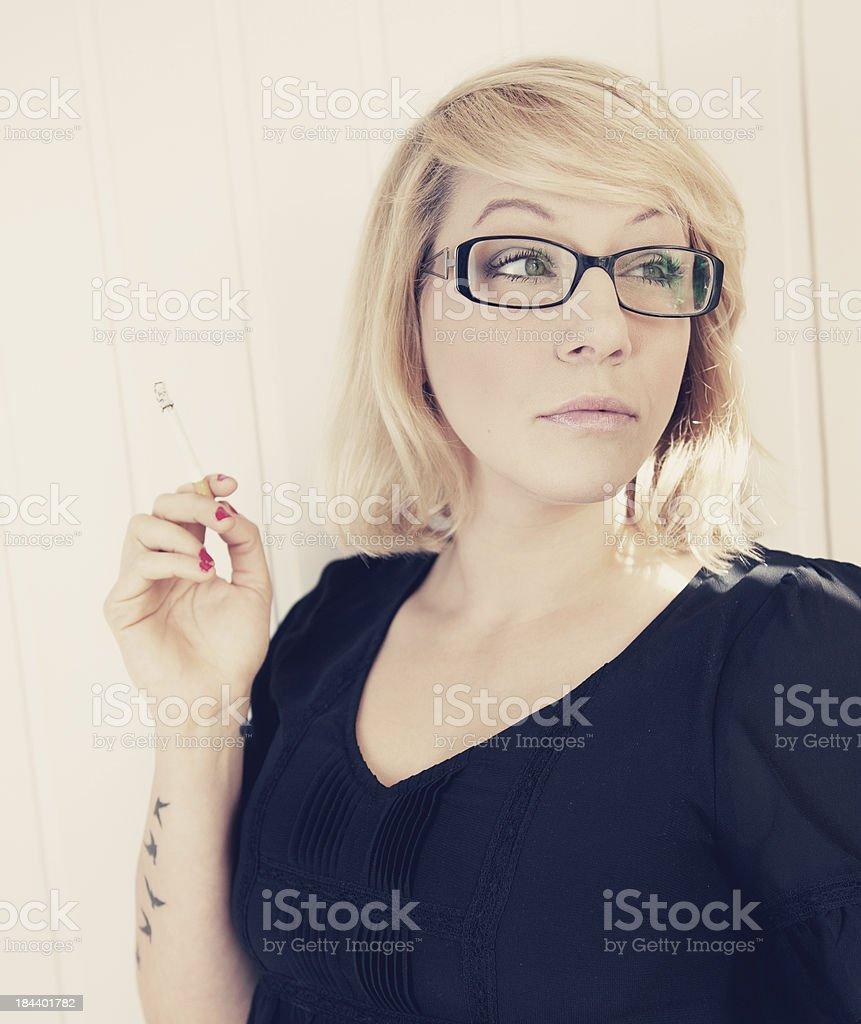 Rauchen Frau – Foto