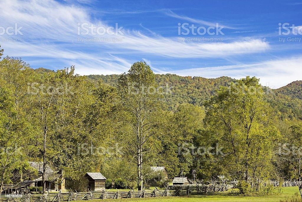 Smoky Mountain Farm Stop stock photo