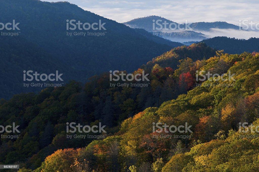 Smoky Mountains National Park royalty-free stock photo