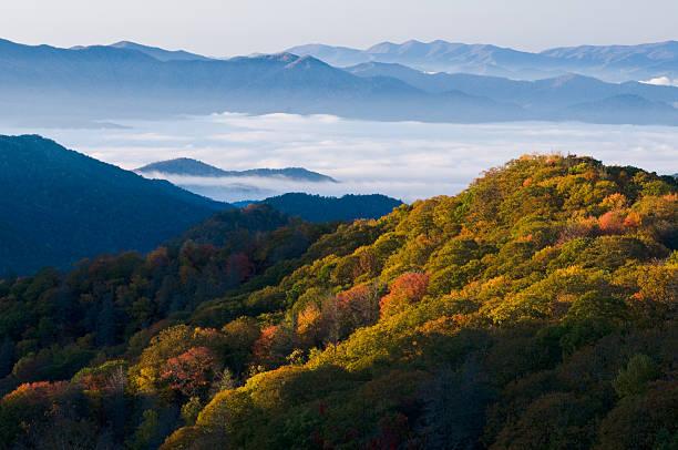Parque nacional de las Montañas Great Smoky - foto de stock
