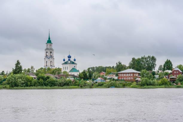 Cтоковое фото Smolensk church in the village of Dievo-Gorodishche in Russia