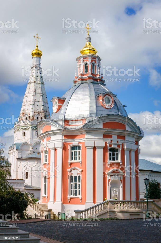 Smolenskaya Seriev Posad, 러시아의 교회 - 로열티 프리 0명 스톡 사진