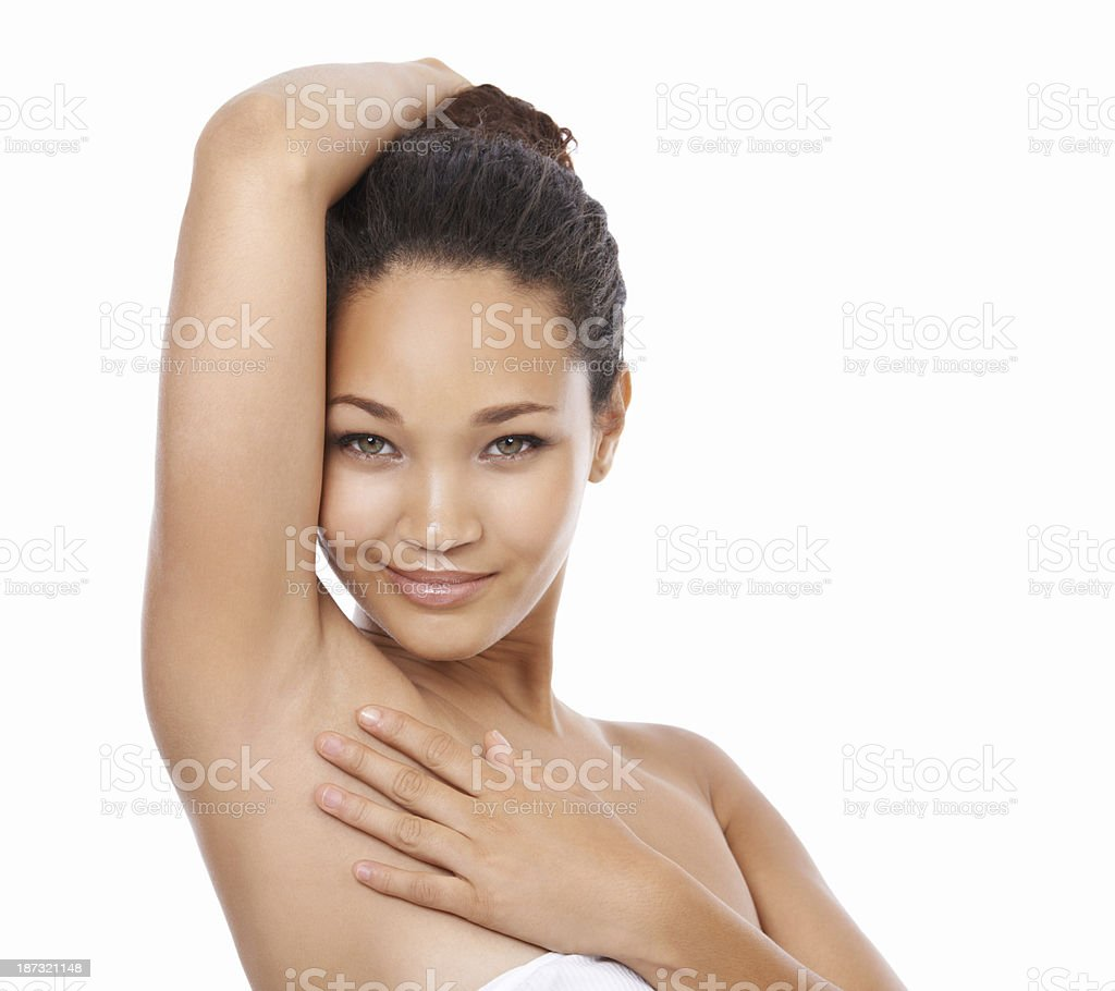 Smooth and silky stock photo