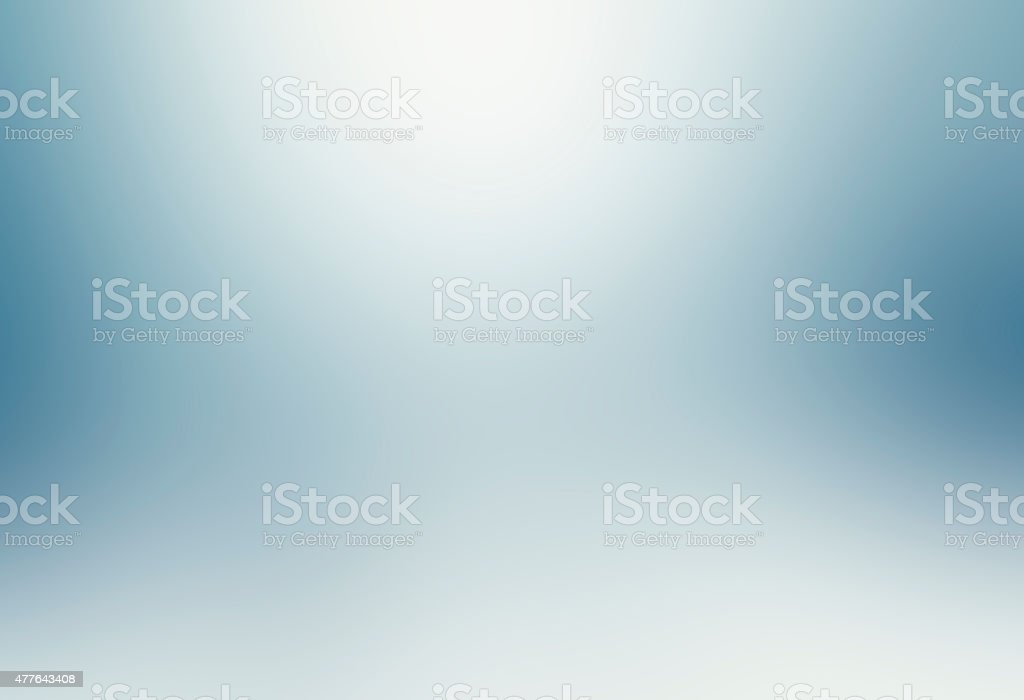 Smooth blue and white abstract background stock photo