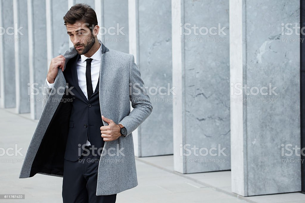 Smooth business stock photo