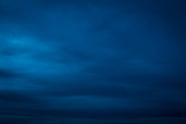 smooth dark blue sky - dark blue stock pictures, royalty-free photos & images