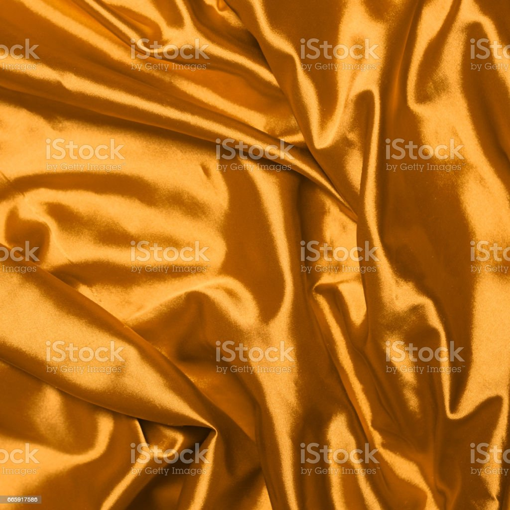 Smooth elegant gold silk background foto stock royalty-free