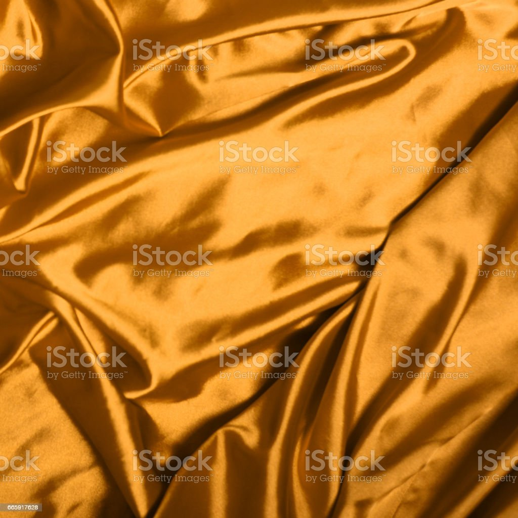Smooth elegant gold silk background foto stock royalty-free