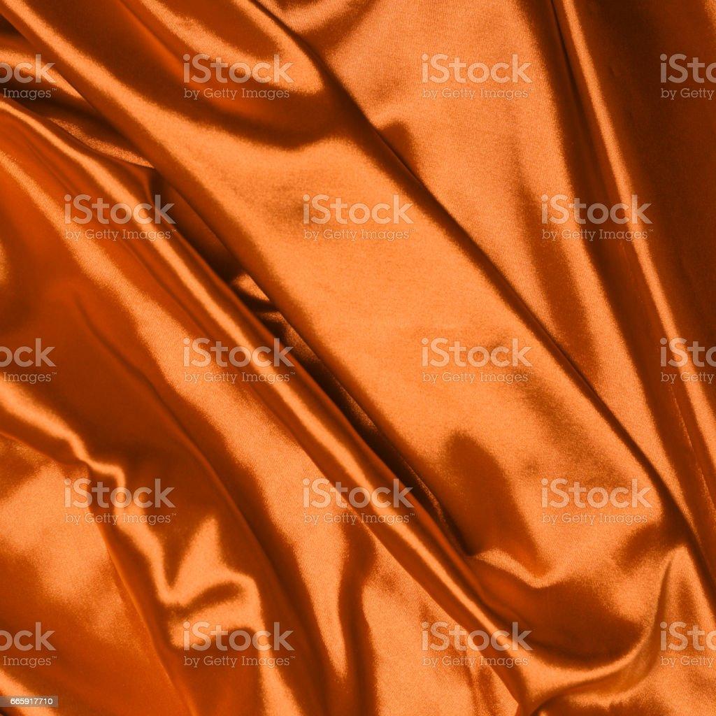 Smooth elegant orange silk background foto stock royalty-free