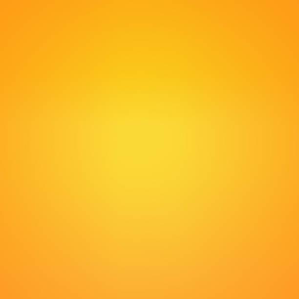 Smooth gold and orange plain background stock photo