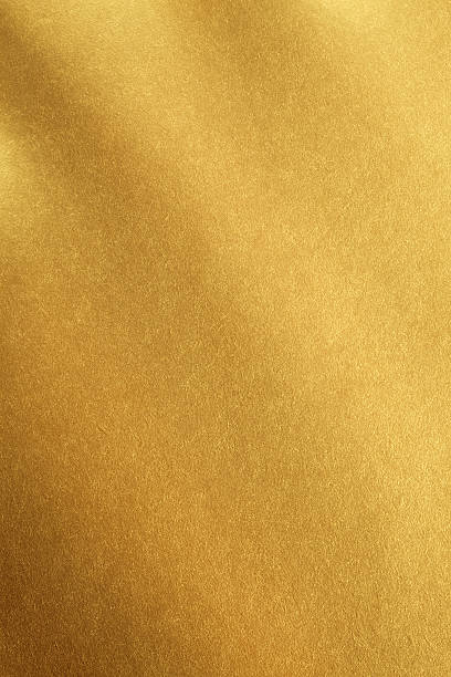 Smooth gold material background stock photo