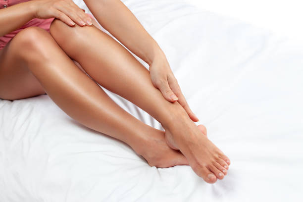 smooth legs - smooth stock photos and pictures
